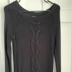 Apt.9 Black Cable Knit Sweater